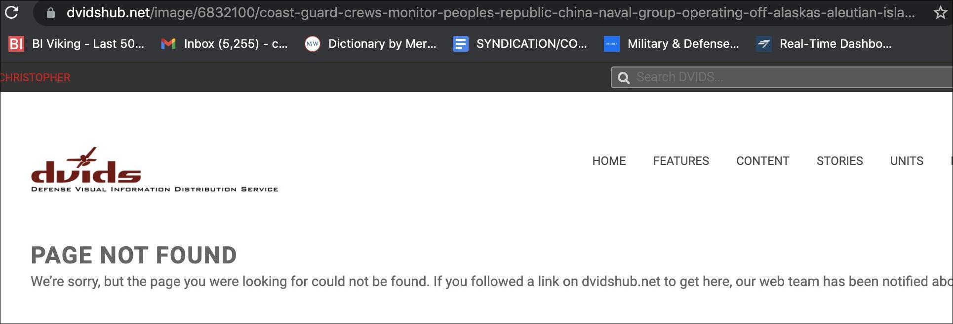 中国海军055大驱编队现身阿拉斯加 美军拍照发了又删