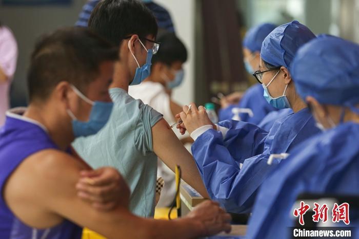 31省份累计报告接种新冠病毒疫苗214812.0万剂次