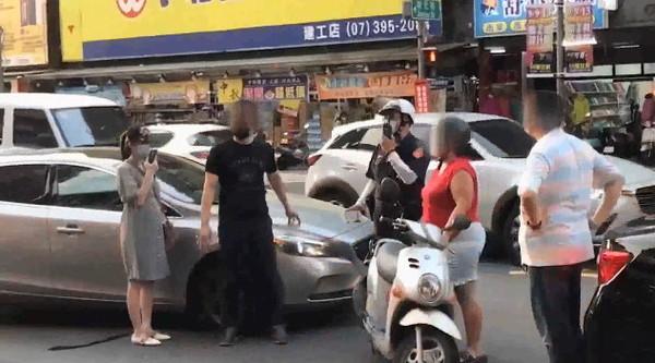 """台湾岛内""""最美主持人""""当街被人扇耳光"""