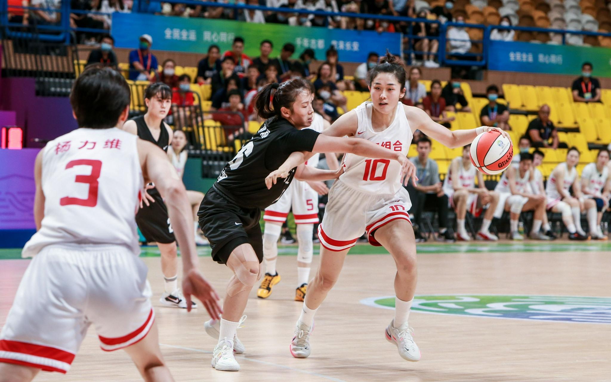 全运会5战全胜夺冠,中国女篮进入亚洲杯时间