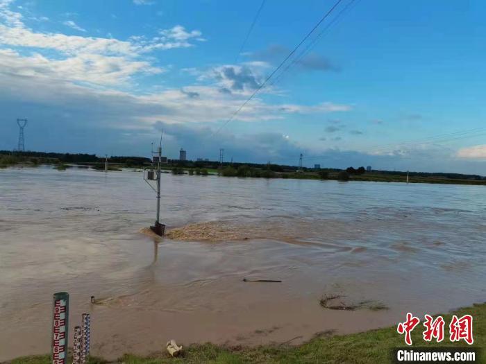 渭河出现2021年第1号洪水
