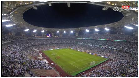 赢国足后,沙特球迷:沙特阿拉伯是亚洲之王!