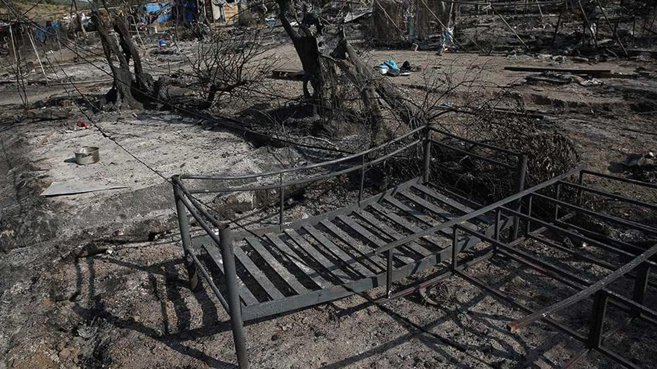 希腊最大难民营纵火嫌疑人被逮捕