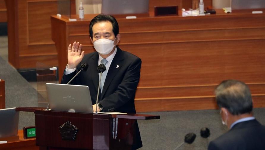 韩总理:疫情初期没有全面禁止中国人入境 是明智之举