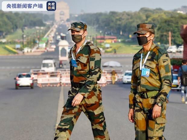 印度军队累计近2万人感染新冠肺炎 35人死亡