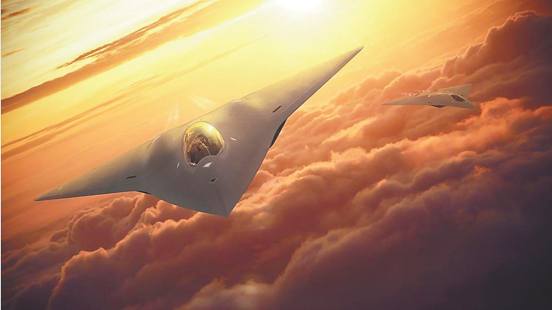 """迫使中国强化防御?美媒爆美""""六代战机""""已完成首飞"""