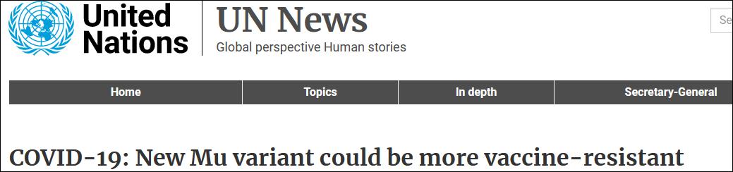 """世卫警惕的新冠病毒新变种""""缪"""",已入侵全美49州"""