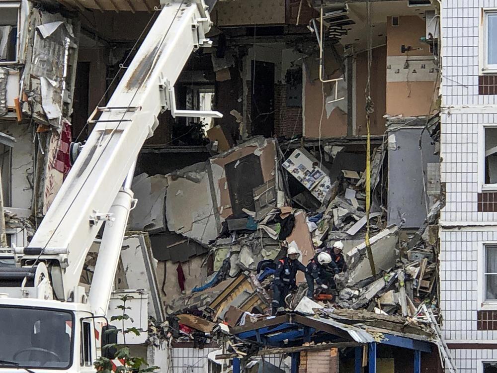 俄罗斯首都发生瓦斯爆炸 2人死亡6人失踪