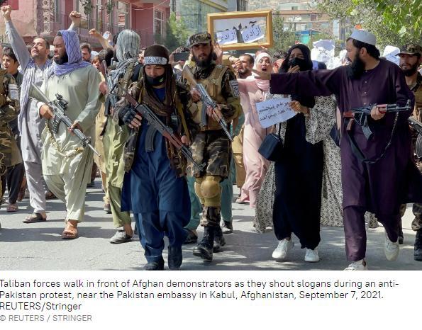 """外媒:塔利班称阿富汗的反巴基斯坦抗议有""""外国资助"""""""