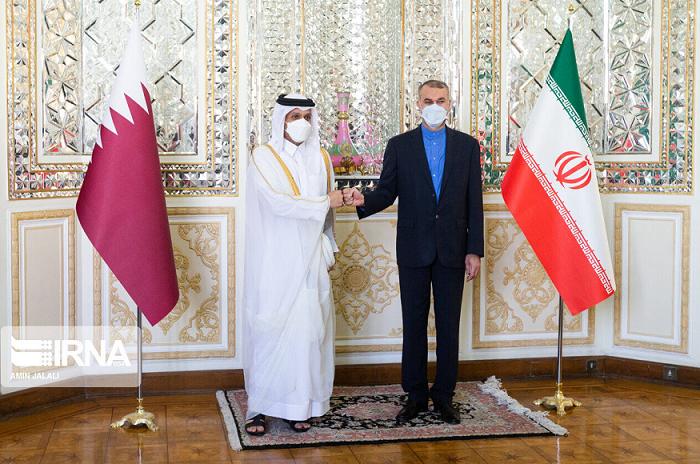 卡塔尔外交大臣就阿富汗局势等地区议题访问伊朗