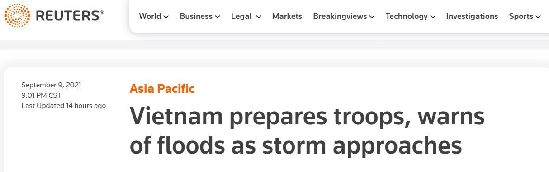 """越南安排50万兵力待命,准备应对热带风暴""""康森"""""""