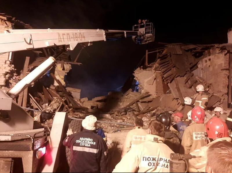 俄罗斯居民楼煤气爆炸事故已造成2人死亡