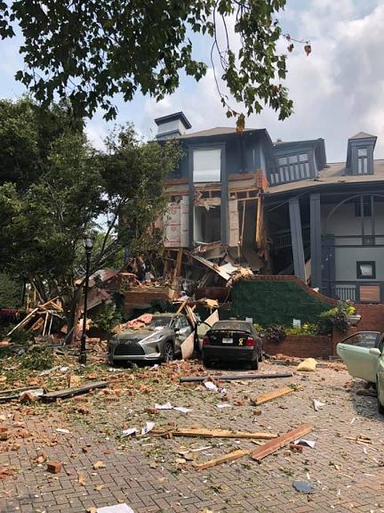 美国亚特兰大一公寓发生爆炸