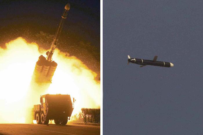 朝鲜成功试射远程巡航导弹 美韩均无预报