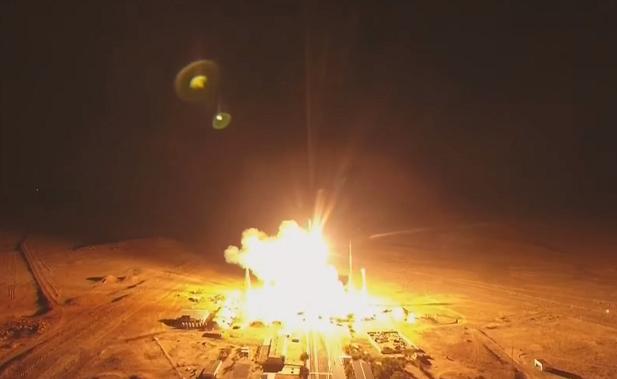 俄搭载34颗通讯卫星运载火箭成功发射