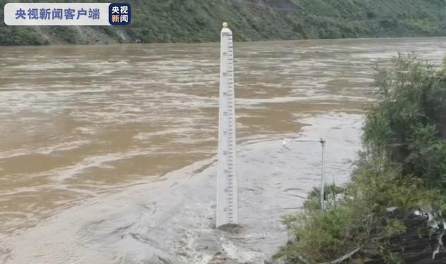 新一轮汉江洪水从陕西省白河县安全出境