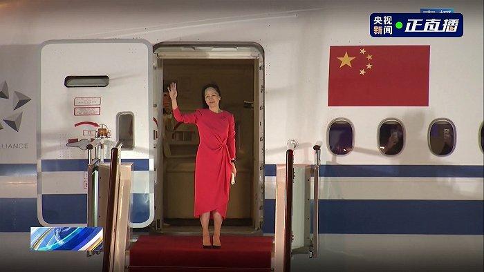 孟晚舟发表感言:祖国,我回来了!