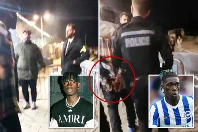英超又出性侵案!25岁的布莱顿中场比索马遭警方逮捕