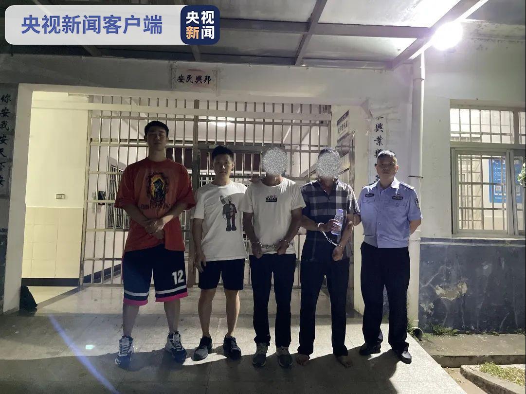 袭警!江西3名犯罪嫌疑人被依法刑事拘留