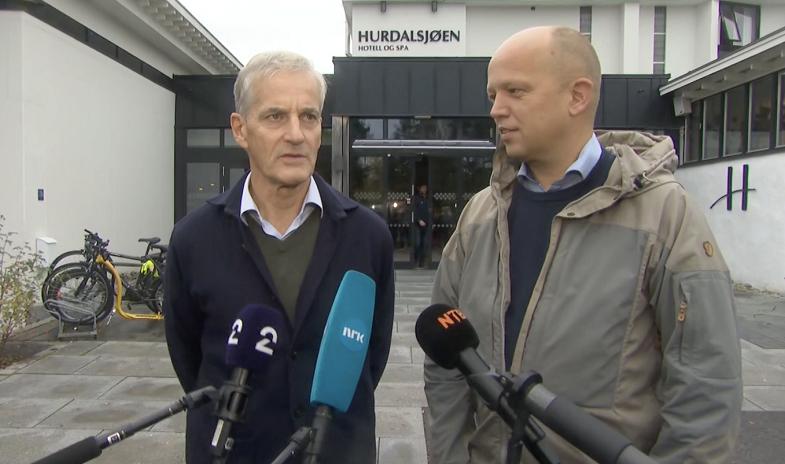 挪威工党和中间党准备组成新一届政府