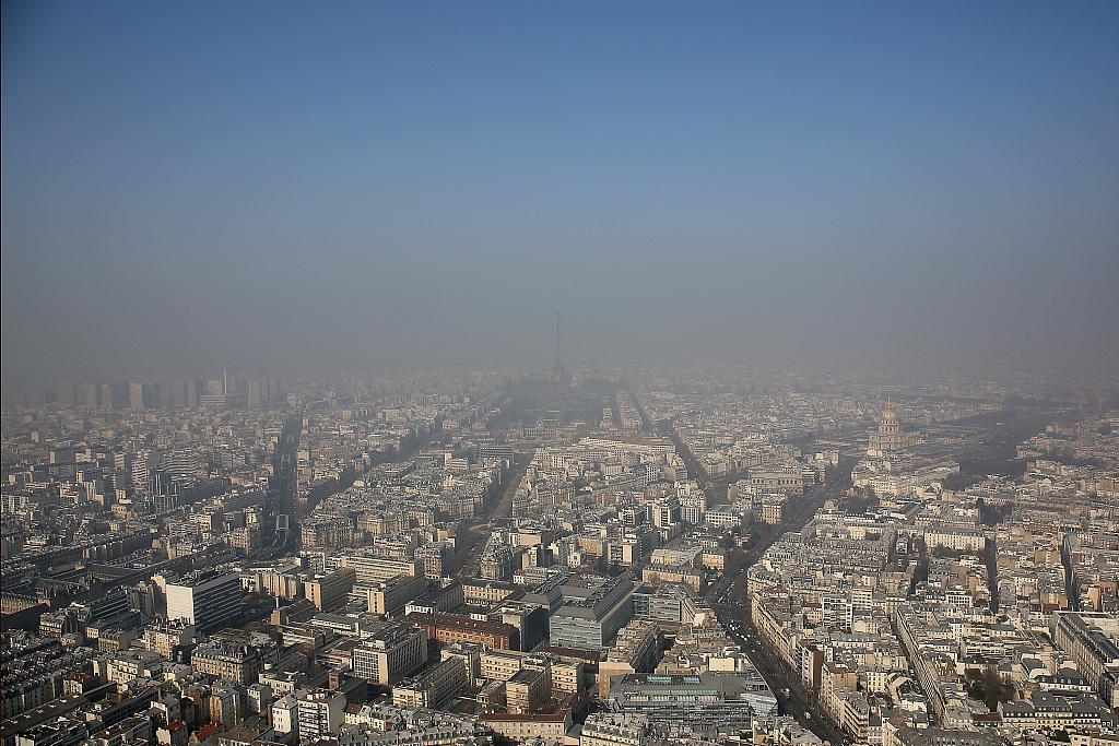 """法媒:近八成人认为""""巴黎是一个肮脏的城市"""""""
