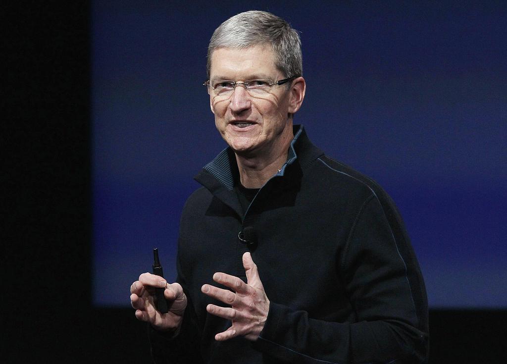 """苹果CEO库克:人们不应""""无休止、无意义""""地刷手机"""