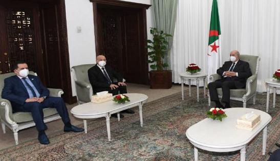 利比亚议长结束对阿尔及利亚的访问