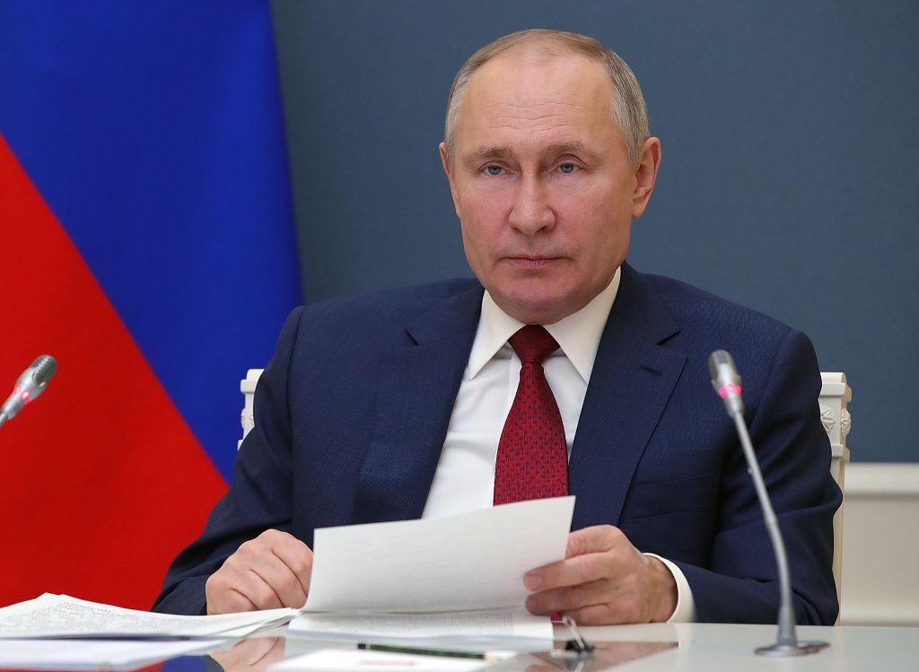 普京:美英澳建立AUKUS联盟破坏地区稳定