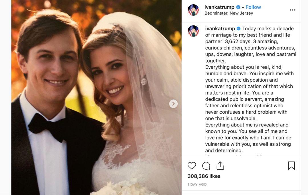 伊万卡庆祝结婚10周年 这个总统度假胜地有何来历