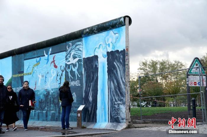 """柏林墙倒塌30周年:默克尔呼吁德国内部""""对话"""""""