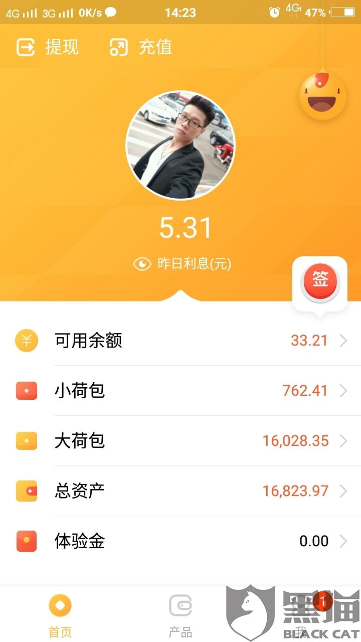 9b48c13a7b29 黑猫投诉:请荷包金融把16823.97元还给我。_北京过刊网
