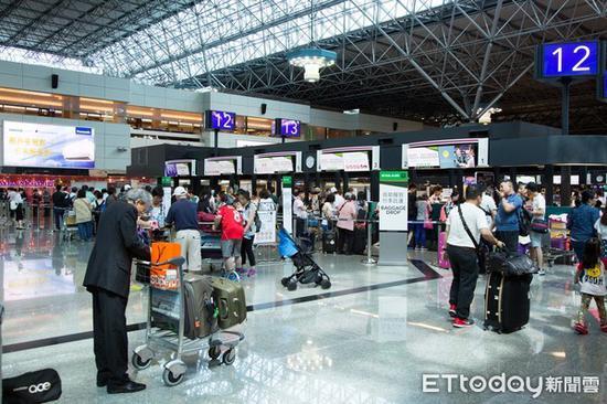 台湾机场资料图(图:东森新闻云)