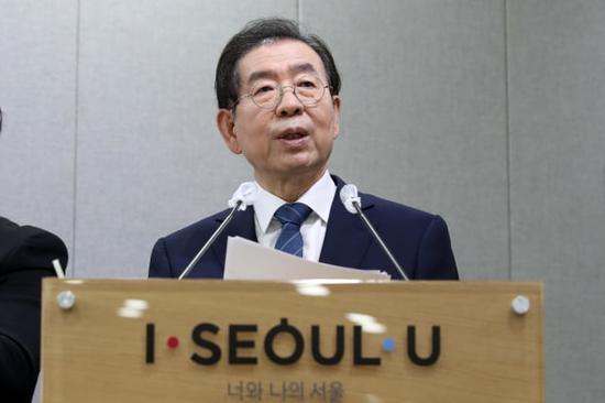 韩联社:失踪的首尔市长朴元淳已身亡