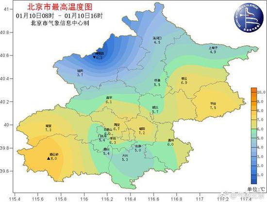 (来源:@气象北京)
