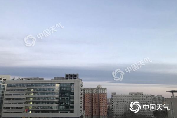 北京今晨能见度转好。