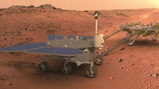 定了!转起迎接!中国首辆火星车命名祝融号