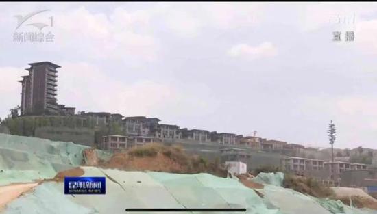 昆明投入1700多人整改古滇名城长腰山片区过度开发问题