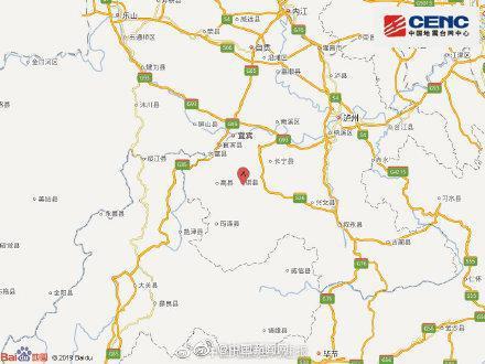 四川长宁6.0级地震后现3次5级以