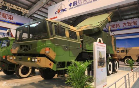 红旗-22系统使用了先进的H-200相控阵雷达,这是其作战效能大幅度提升的关键
