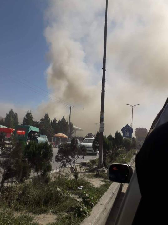 阿富汗东部发生汽车炸弹袭击事件