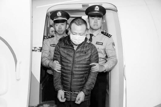 嫌疑人被押解回国。 警方供图