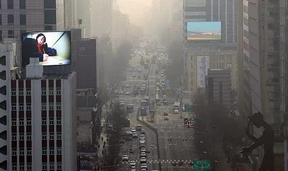 新闻联播哀悼词 韩国终于承认:雾霾这锅不该中国背