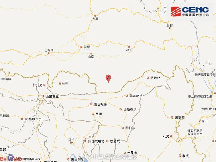 帕尔萨斯怎么打 西藏山南发生5.8级左右地震