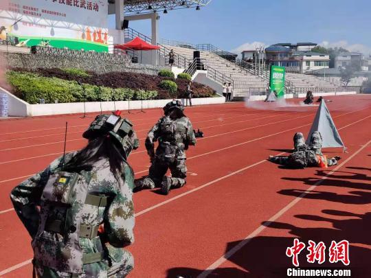 2019年福建省大学生军事技能比武活动福州举行