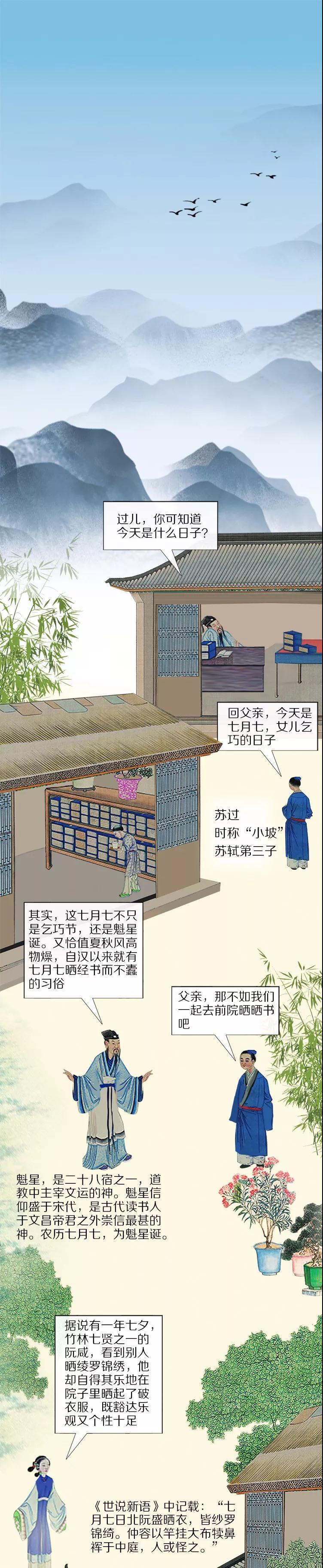 民国岁月 苏轼有多喜欢过七夕?