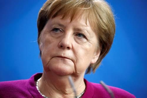 图为德国总理默克尔。新华社/法新