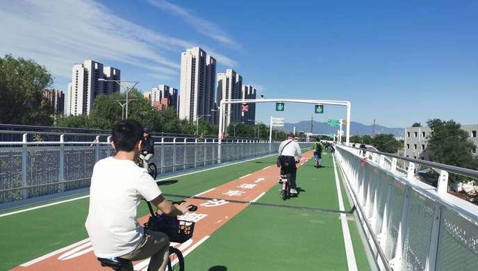 妈妈教我一支歌简谱 北京首条自行车专用路今开通,周边市民抢先体验,全程约20分钟