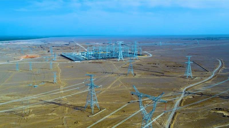 卖火柴的少女 新疆电网建设实现南疆南部四地州750千伏全覆盖 -国务院国有资产监督管理委员会