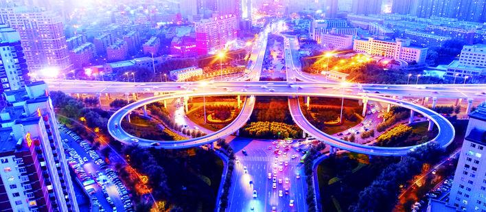 """""""两横三纵""""快速路:引领长春迈入立体交通时代"""