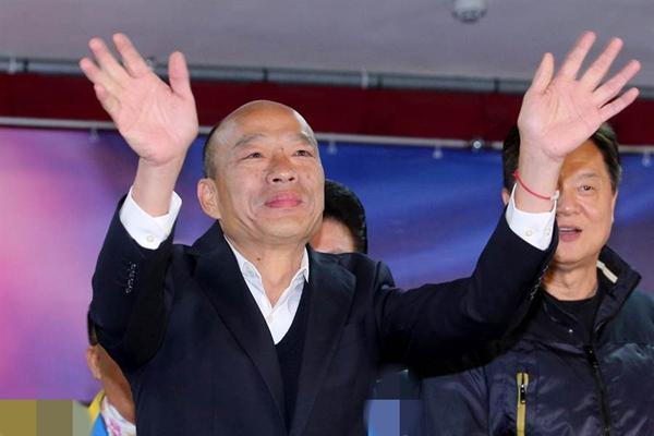 传徐才厚涉政变案 台湾2019热搜榜出炉:韩国瑜成唯一政治关键词